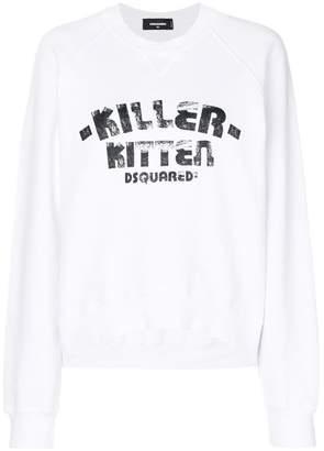 DSQUARED2 Killer Kitten sweatshirt