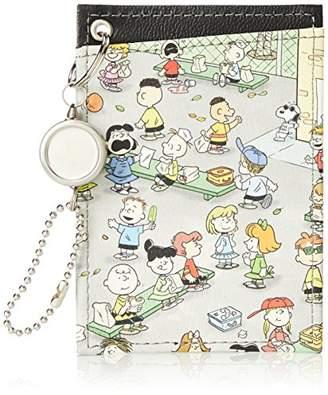 Snoopy [スヌーピー] リール付き両面パスケース SY1211 GY グレー