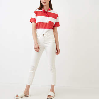 Roots Cropped Stretch Riley Jean