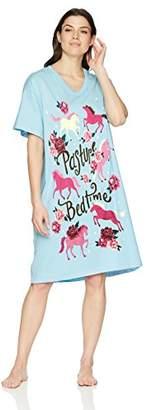 Hatley Little Blue House by Women's Animal Sleepshirts