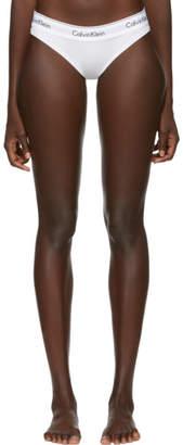 Calvin Klein Underwear White Modern Bikini Briefs