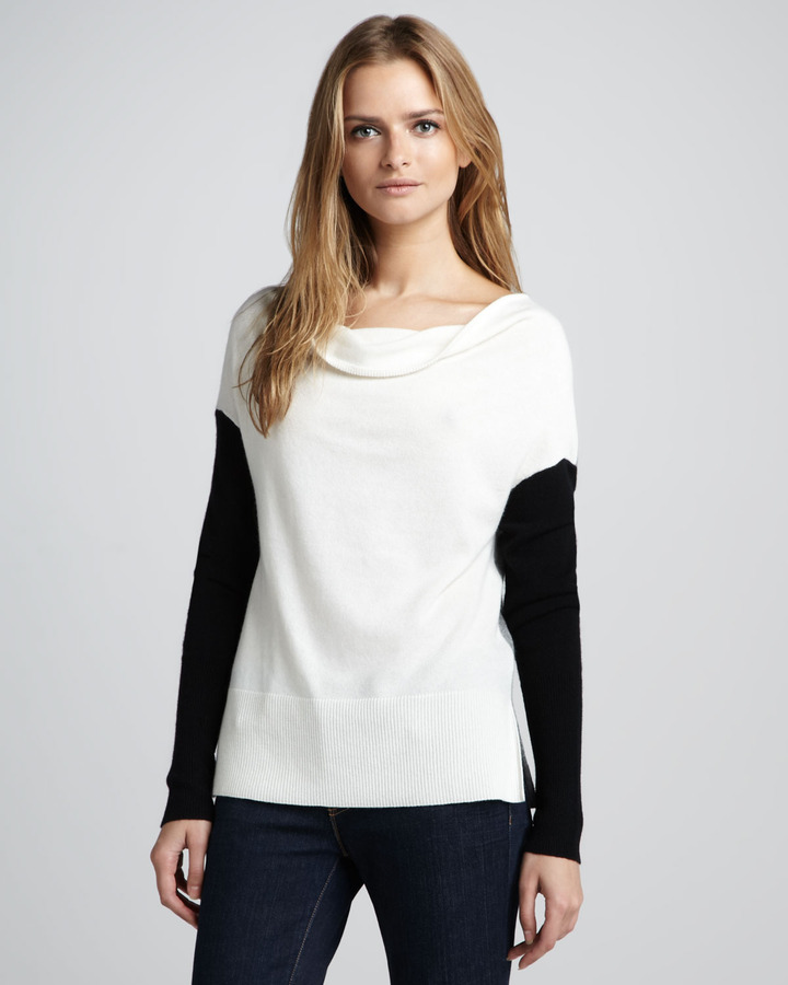 Robert Rodriguez Colorblock Wool/Cashmere Sweater