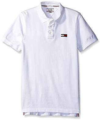 Tommy Hilfiger Men's Basic Big Flag Polo Short Sleeve