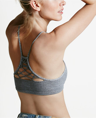 Free People Lattice-Detail Racerback Bralette OB415612 $20 thestylecure.com