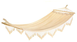Bungalow Rose Douane Fringed Cotton Tree Hammock