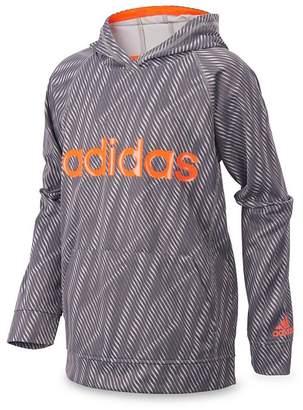adidas Boys' Helix Vibe Fleece Pullover Sweatshirt - Little Kid