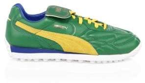 Puma King Avanti Leather& Suede Soccer Runners