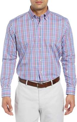 Peter Millar COLLECTION Fika Regular Fit Plaid Sport Shirt