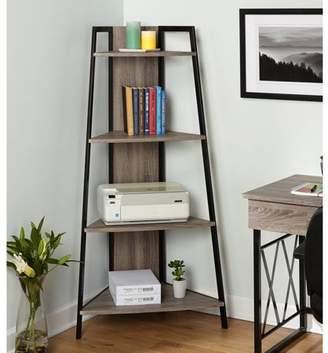 TMS Leny XX Corner Shelf, Black/Grey
