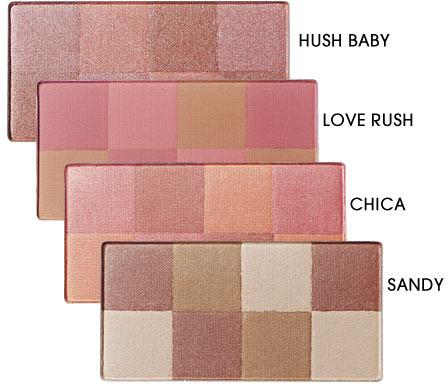 Mark Good Glowing Mosaic Blush Custom Color Palette