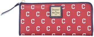Dooney & Bourke Cleveland Indians Zip Clutch
