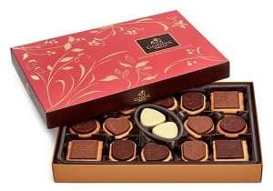 Godiva 32-Piece Prestige Chocolate Biscuit Gift Set