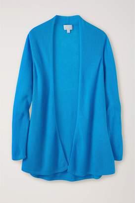 Next Womens Pure Collection Blue Gassato Swing Cardigan