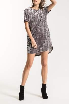 Crushed Velvet Dress - ShopStyle UK 2b1c78df3