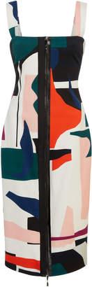 Cushnie et Ochs Orlena Sleevless Exposed Zip Pencil Dress