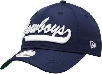 New Era Women's Navy Dallas Cowboys 2019 NFL Sideline Home Official 9TWENTY 1960s Adjustable Hat