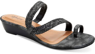 Style&Co. Style & Co Hartlee Slide On Wedge Sandals