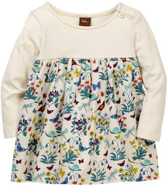Tea Collection Heather Two-Tone Dress (Baby Girls)