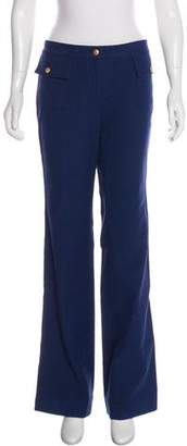 Robert Rodriguez Flared Mid-Rise Pants