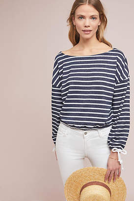 Cupcakes And Cashmere Admiral Striped Top