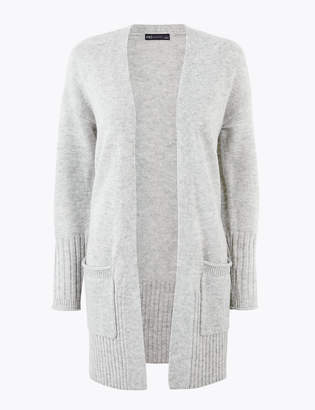 Marks and Spencer Lola Ribbed Edge to Edge Cardigan