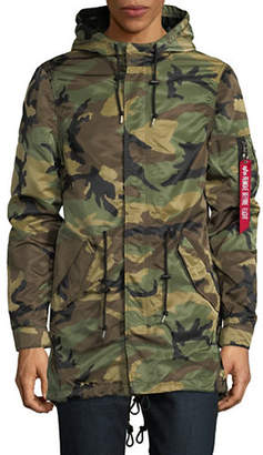 Alpha Industries Fishtail Camouflage Jacket