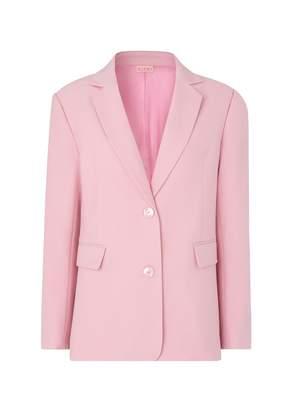 Kitri Laurie Pink Oversized Blazer