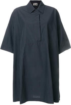 Hache oversize shirt dress
