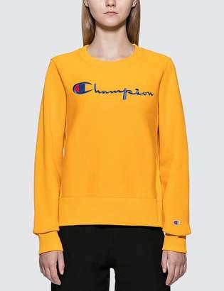 Champion Reverse Weave Big Script Sweatshirt