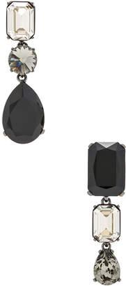 Oscar de la Renta Bold Crystal Earrings