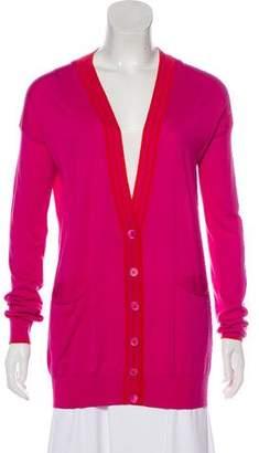 Stella McCartney Knit V-Neck Cardigan