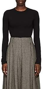 The Row Women's Obinne Stretch-Jersey Bodysuit - Black