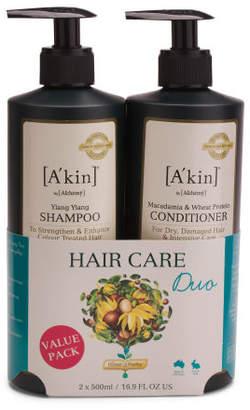 Ylang Ylang Shampoo And Macadamia & Wheat Protein Conditioner