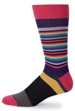 Bugatchi Colorblock Casual Socks