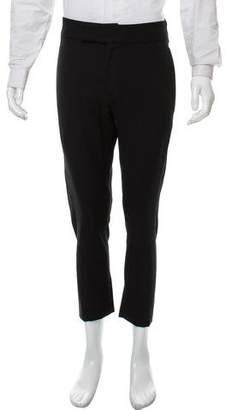 Ann Demeulemeester Cropped Wool-Blend Pants