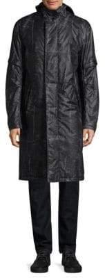 Helmut Lang Flat Hood Raincoat