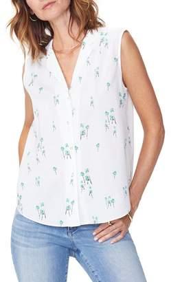 NYDJ Sleeveless Cotton Top