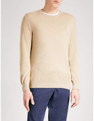 Polo Ralph Lauren Logo-embroidered slim-fit knitted jumper