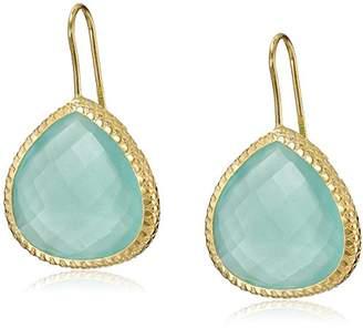 Coralia Leets Jewelry Design Peruvian Oval 20mm FW Teardrop Earrings
