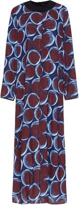 Marni Printed Maxi Shift Dress