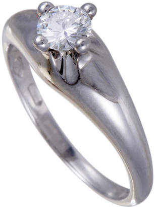 Bulgari Heritage  Platinum 0.40 Ct. Tw. Diamond Ring