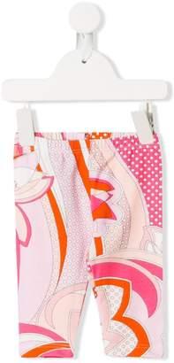 Emilio Pucci Junior floral print leggings