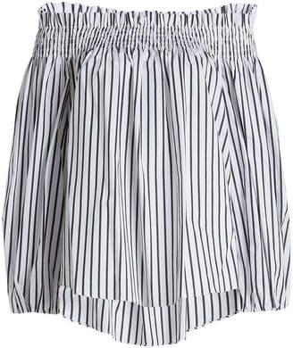Caroline Constas Lou Striped Cotton Blouse