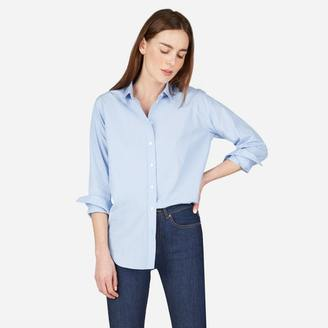 The Relaxed Cotton Shirt $65 thestylecure.com