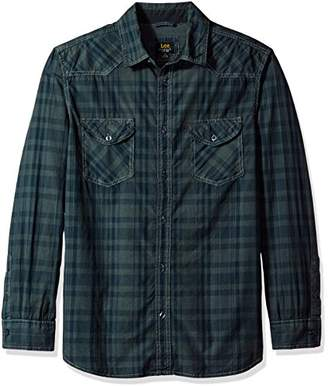 Lee Men's L/Sleeve Button Down Shirt