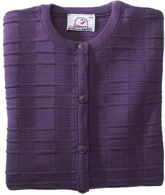 Silverts Disabled Elderly Needs Womens Two Pocket Cardigan Sweater For Elderly Senior Women