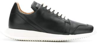 Rick Owens Oblique lace-up sneakers