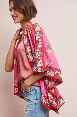 Anthropologie Rae Floral Jacket Kimono
