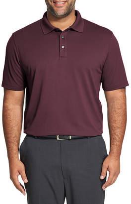 Van Heusen Mens Cooling Short Sleeve Polo Shirt Big and Tall