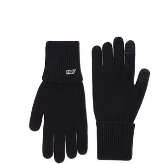 Vineyard Vines Cable Texting Gloves